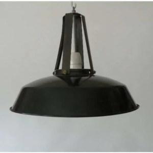Geemailleerde mazda hanglamp
