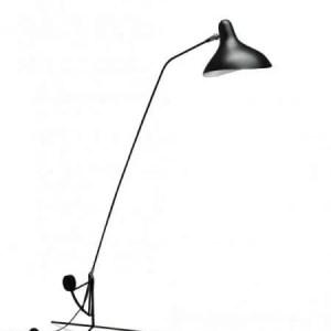 Mantis BS1 floorlamp Zwart-satijn