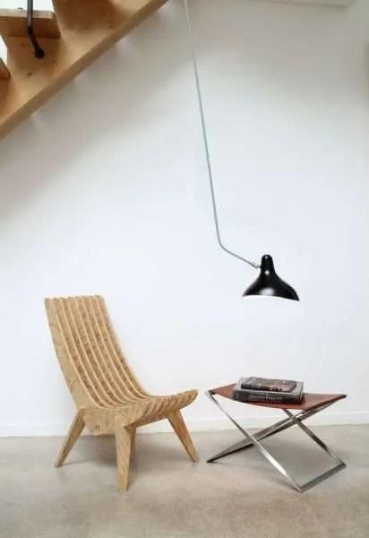 Mantis BS4 L wand lamp Zwart-satijn
