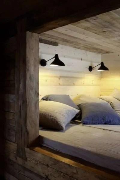 Mantis BS5 wand lamp zwart zwart boven bed