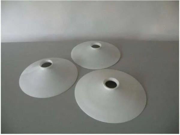 Opaline hanglamp drie