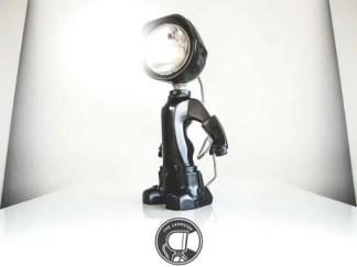 The Lampster zwart