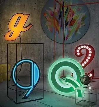 letter-neon-graphic-lamp-delightfull in situ