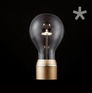 Flyte single bulb goud