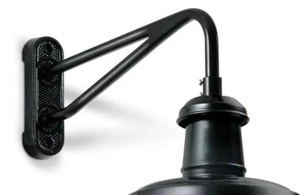 Berlin glas wandlamp detail