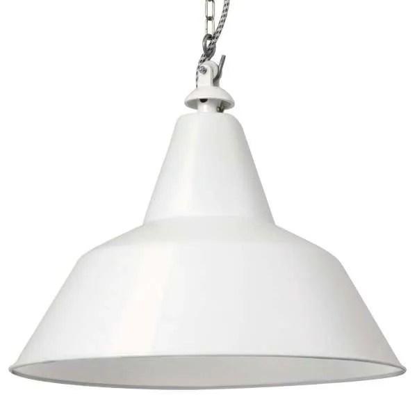 Bielefeld hanglamp wit van dichtbij