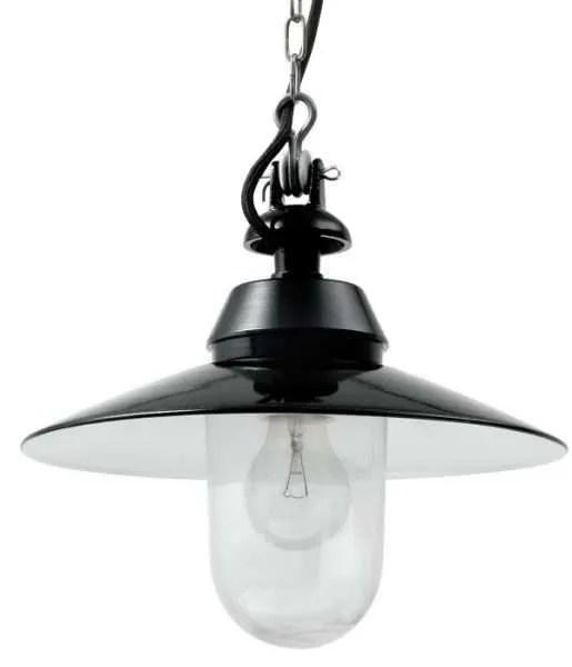 Bremen helder glas stolplamp groot detail