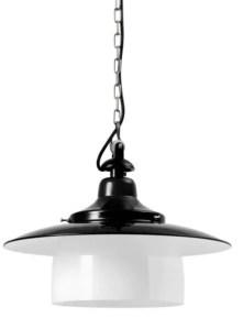 Hannover stolplamp zwart