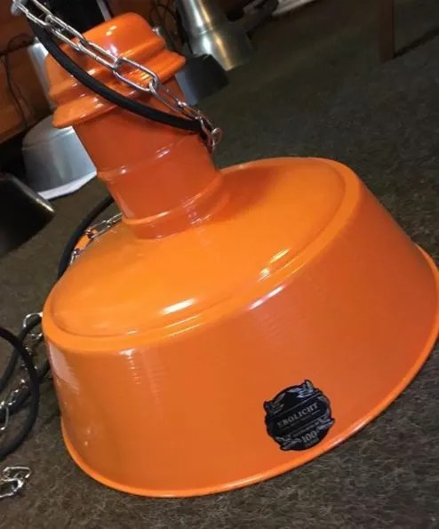 Project ebolicht bissingen oranje BINK lampen