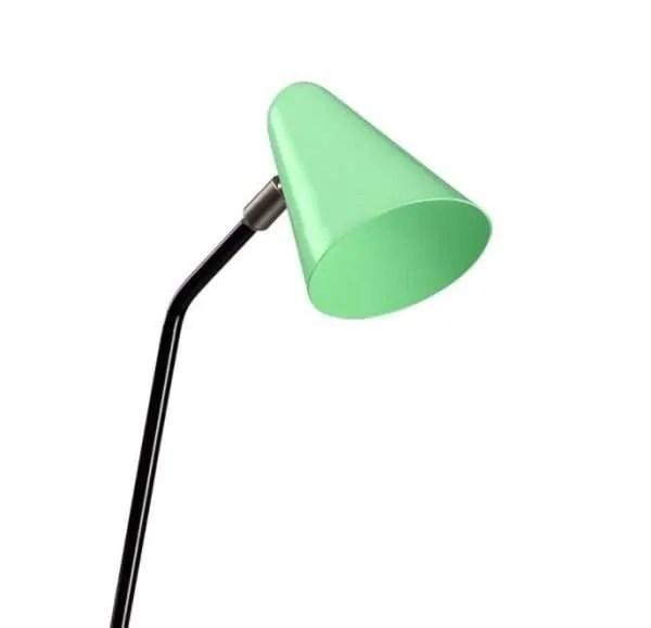 De stiletto ANVIA vloerlamp BINK lampen groen