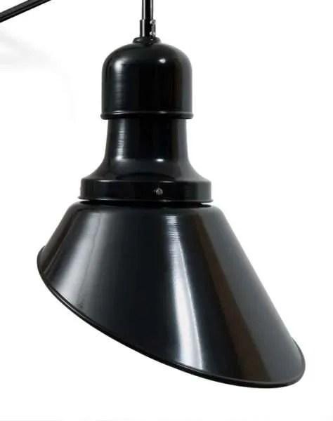 Hof wandlamp haaks detail