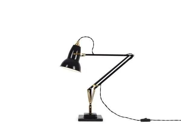 Original 1227 Messing bureaulamp Deep Slate 1