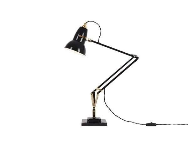 Original 1227 Messing bureaulamp Deep Slate 2