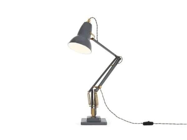 Original 1227 Messing bureaulamp Elephant Grey 3