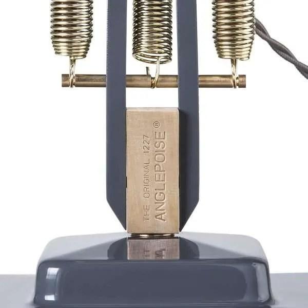 Original 1227 Messing bureaulamp Elephant Grey 7