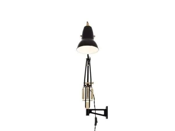 Original 1227 messing wandlamp anglepoise Deep Slate 3