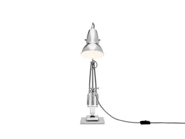 Original 1227 bureaulamp Bright Chrome w BW Cable 4