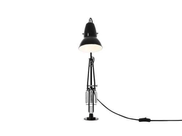 Original 1227 bureaulamp zwart met vaste voet 4