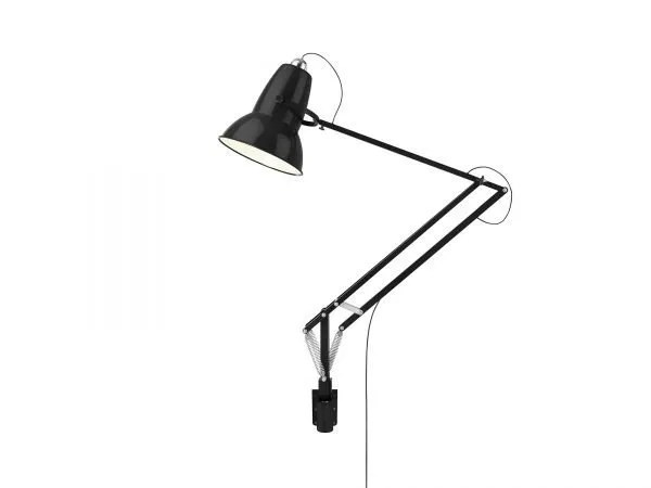 Original 1227 Giant Wall Mounted Lamp Jet Black 2 (Gloss)