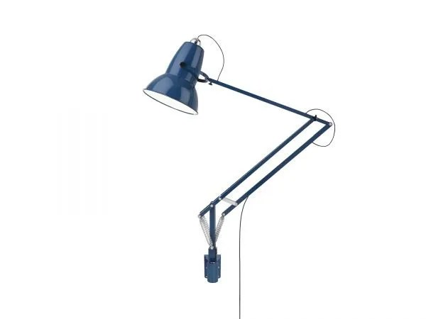 Original 1227 Giant Wall Mounted Lamp Marine Blue 2