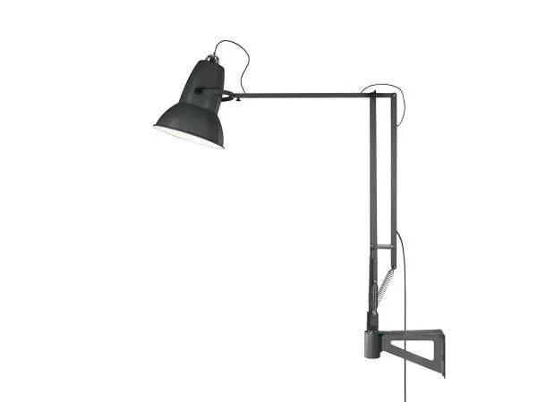 Original 1227 Giant Wall Mounted Lamp Slate Grey 4