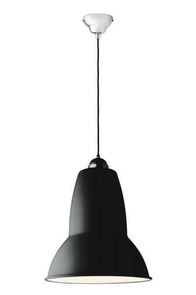 Original 1227 Gigant anglepoise hanglamp Jet Black (Matte)