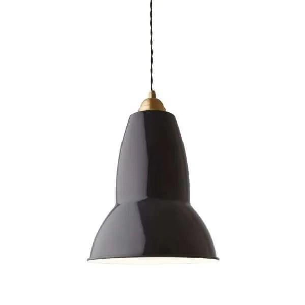 Original 1227 Messing Anglepoise XL Hanglamp - Deep Slate 4