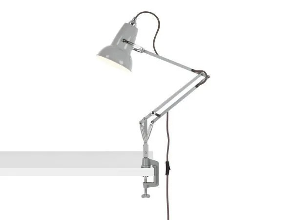 Original 1227 Mini bureau klemlamp Dove Grey 2