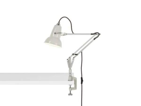 Original 1227 Mini bureau klemlamp Linen White 1