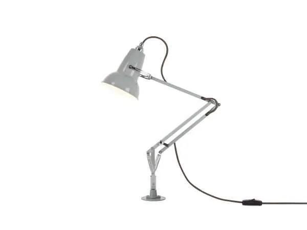 Original 1227 Mini bureau lamp met vaste bevestiging Dove Grey 2 Insert