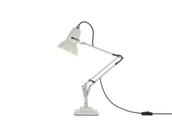 Original 1227 Mini bureaulamp Linen White 2 BINK