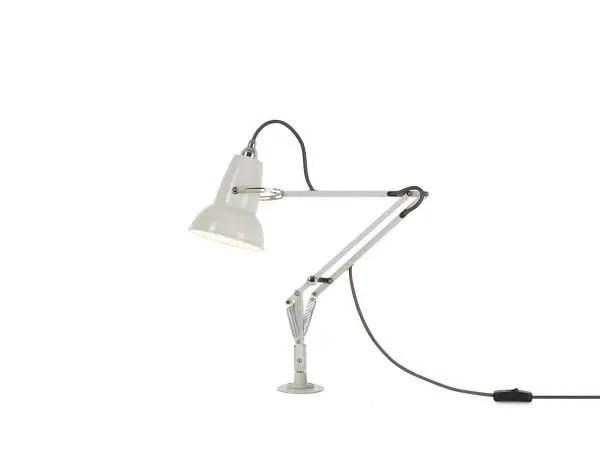 Original 1227 Mini bureau lamp met vaste bevestiging linen White 1 Insert
