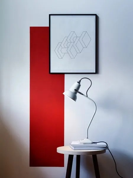 Original 1227 Mini tafel Lamp - Linen Wit - anglepoise