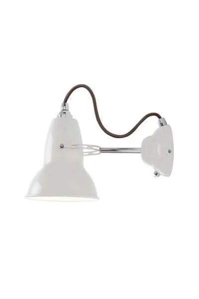 Original 1227 wandlamp anglepoise Linen White 1