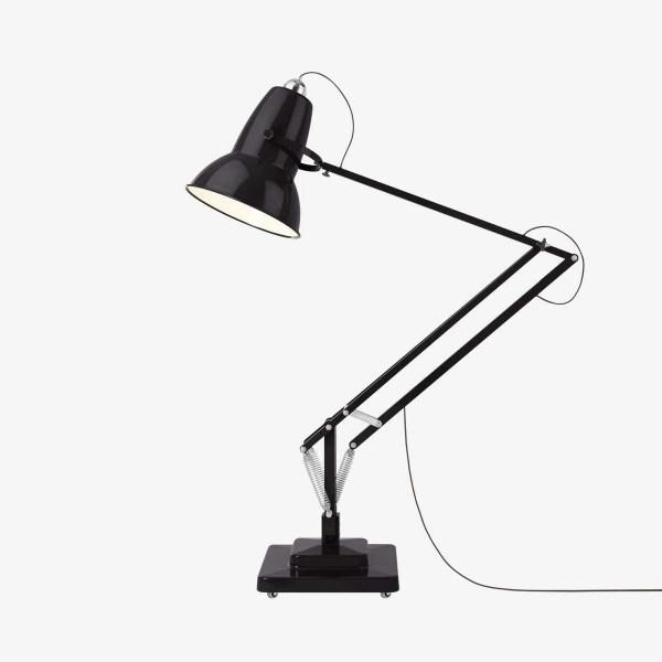 original 1227 anglepoise gigant vloerlamp jet black 1