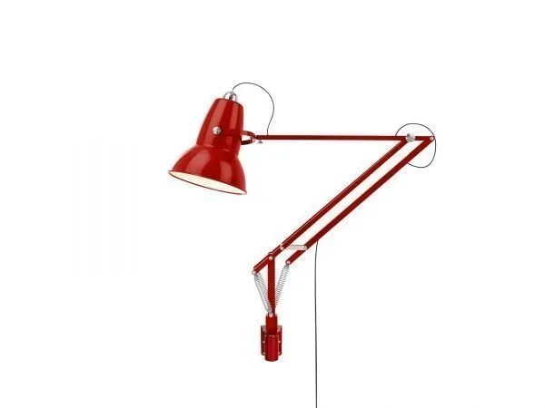 Original 1227 Giant Wall Mounted Lamp Crimson Red 1