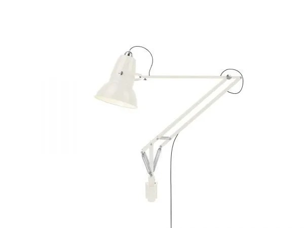 Original 1227 Giant Wall Mounted Lamp Linen White 1 (Gloss)