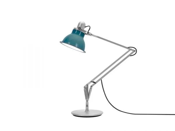 Anglepoise type 1228 Bureaulamp - Ocean Blue 2 On
