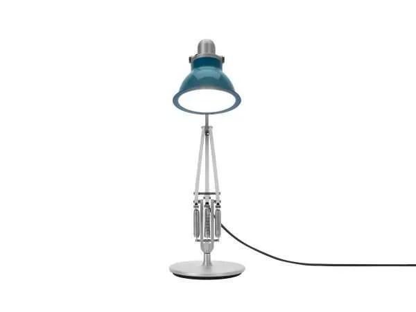 Anglepoise type 1228 Bureaulamp - Ocean Blue 4 On