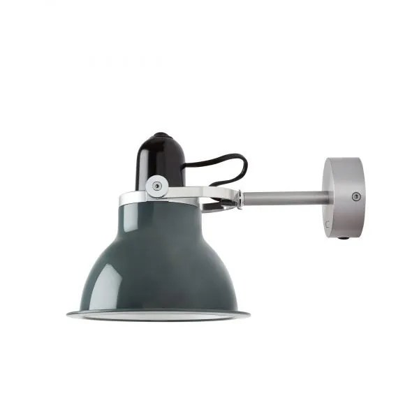 Anglepoise type 1228 Wandlamp spot Granite Grey 1 Off