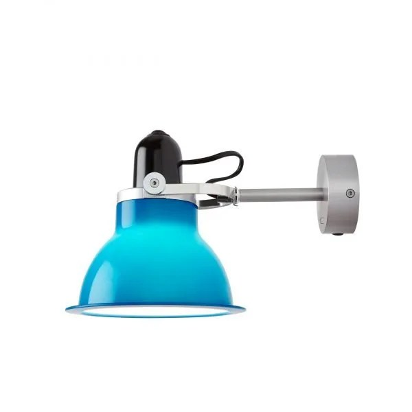 Anglepoise type 1228 Wandlamp spot Minerva Blue 1 On