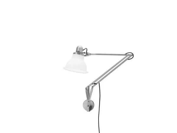 Anglepoise type 1228 wandlamp Ice White 1 Off