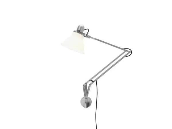 Anglepoise type 1228 wandlamp Ice White 2 On