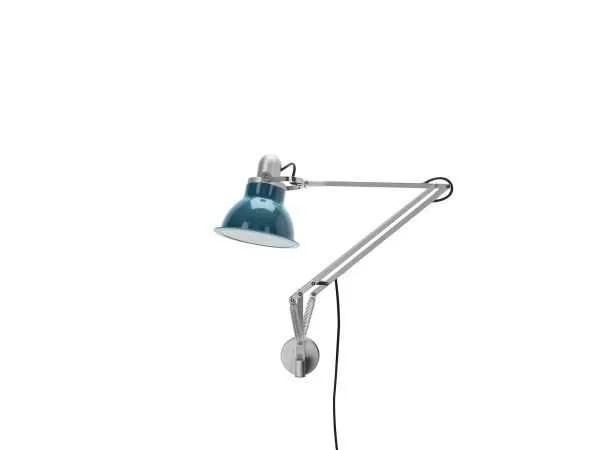 Anglepoise type 1228 wandlamp Ocean Blue 1 Off