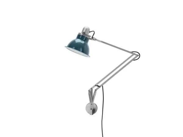 Anglepoise type 1228 wandlamp Ocean Blue 2 Off