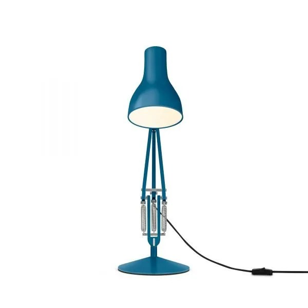Anglepoise type 75 Desk Lamp - Saxon Blue 4