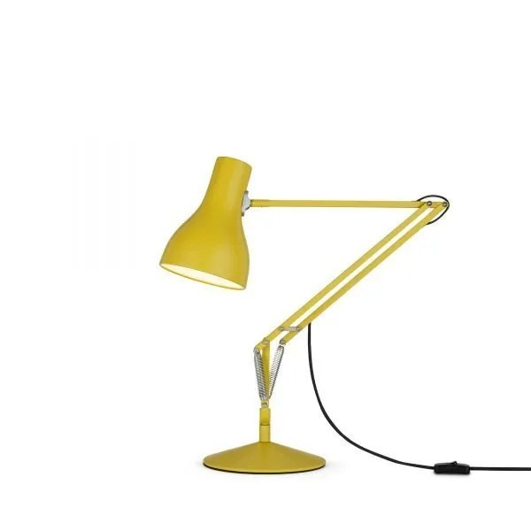 Anglepoise type 75 Desk Lamp - Yellow Ochre 2