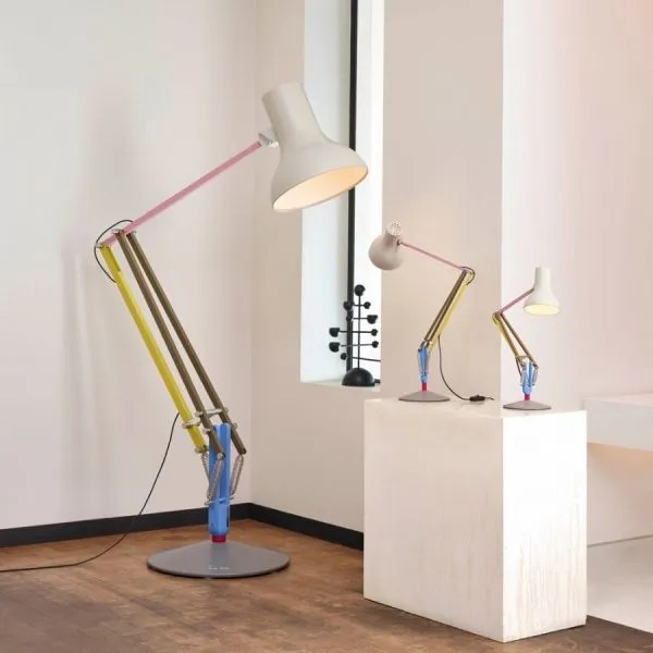 Anglepoise type 75 Giant Vloerlamp Paul Smith edition one in situ