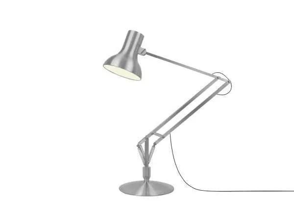 Anglepoise type 75 Gigant vloerlamp Brushed Aluminium 2
