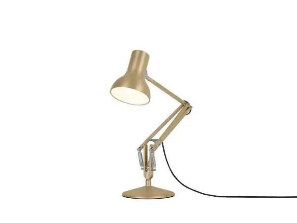 Anglepoise type 75 Mini bureaulamp Gold Lustre 3